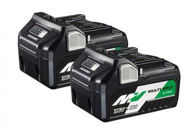 TwinPack - BSL36A18 Multivolt Accu 36V 2,5Ah/ 18V 5,0Ah Li-Ion