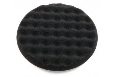 Polijstspons gewafeld Zwart 200 x 30 mm