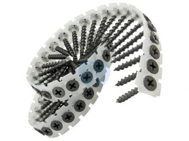 Bandschroef 4,0 x 30 RVS A2 Spaanplaat 1000 Stuks