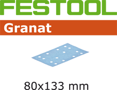 497204 Schuurstroken Granat STF 80x133 P280 GR/100