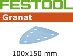 497142 Schuurbladen Granat STF DELTA/7 P240 GR/100
