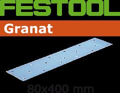 497164 Schuurstroken Korrel 320 Granat 50 stuks STF 80x400 P320 GR/50