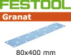 499631 Schuurstroken GRANAT STF 80x400 P100 GR/50