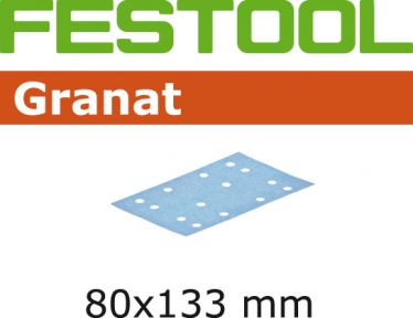 497127 Schuurstroken Granat STF 80x133 P40 GR/10