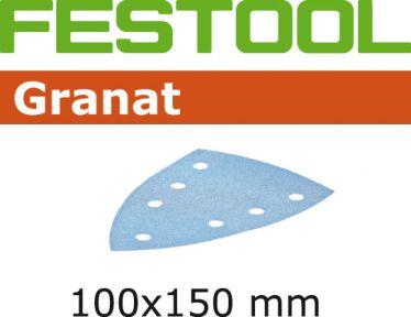 497138 Schuurbladen Granat STF DELTA/7 P120 GR/100