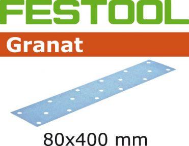 497157 Schuurstroken Korrel 40 Granat 50 stuks STF 80x400 P40 GR/50