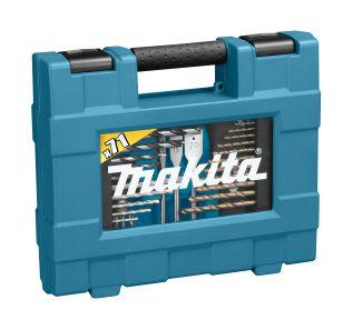 71-delige boor/schroefset in hoog kwalitatieve koffer.