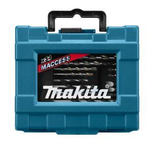 34-delige boor/schroefset in hoog kwalitatieve koffer.