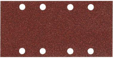 Schuurvel 93x185 mm Korrel 40 RED 10 st.