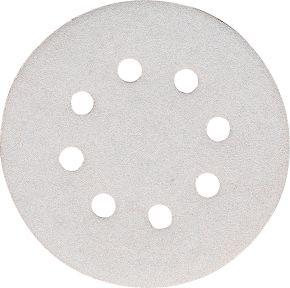Schuurschijf 125 mm Korrel 120 White 10 st.