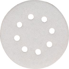 Schuurschijf 125 mm Korrel 100 White 10 st.