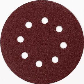 Schuurschijf 125 mm Korrel 100 RED 10 st.