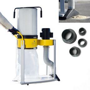 AB-1500CF Afzuigsysteem + Fijnstoffilter 400 Volt