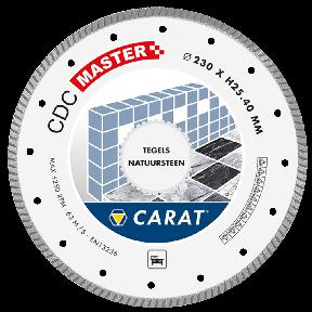 CDCM350400 Diamantzaagblad TEGELS / NATUURSTEEN CDC MASTER 350x25,4MM