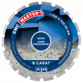 CNCM350400 BETON CNC MASTER 350x25,4MM
