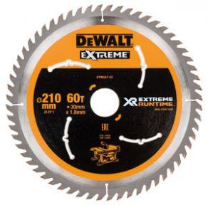 DT99567-QZ XR Cirkelzaagblad 210 x 30 mm 60T