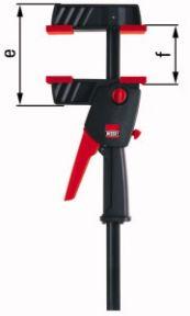 DUO30-8 Eenhand klem Spreiden en Klemmen! 0-300 mm