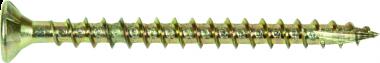 Bandschroef 4,0 x 40 Geel verzinkt Spaanplaat 1000 Stuks