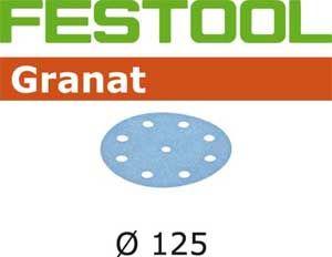 497165 Schuurschijven Granat STF D125/90 P40 GR/50
