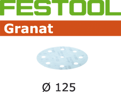 497180 Schuurschijven Granat STF D125/90 P1000 GR/50