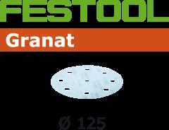 497179 Schuurschijven Granat STF D125/90 P800 GR/50