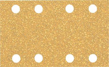 Expert C470 Schuurpapier met 8 gaten 80 x 133 mm, K40 10 stuks
