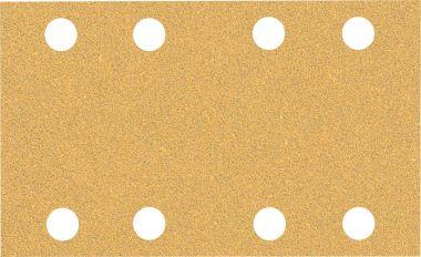 Expert C470 Schuurpapier met 8 gaten 80 x 133 mm, K60 10 stuks