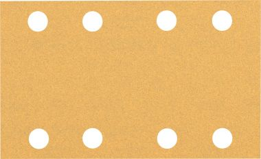 Expert C470 Schuurpapier met 8 gaten 80 x 133 mm, K100 10 stuks