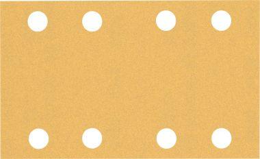 Expert C470 Schuurpapier met 8 gaten 80 x 133 mm, K120 10 stuks
