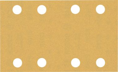 Expert C470 Schuurpapier met 8 gaten 80 x 133 mm, K180 10 stuks