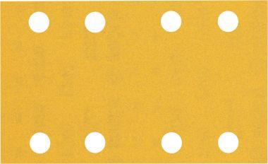 Expert C470 Schuurpapier met 8 gaten 80 x 133 mm, K240 10 stuks