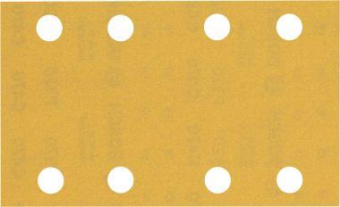 Expert C470 Schuurpapier met 8 gaten 80 x 133 mm, K320 10 stuks