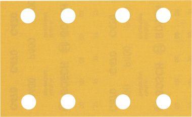 Expert C470 Schuurpapier met 8 gaten 80 x 133 mm, K400 10 stuks