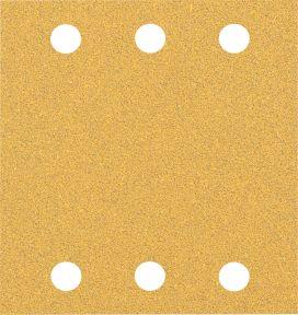 Expert C470 Schuurpapier met 6 gaten 115 x 107 mm, K60 10 stuks