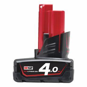 M12 B4 Accu M12 12v 4,0ah red Li-Ion