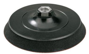 Polijststeunschijf met M14 asaansluiting, klittenbandsluiting 150 mm