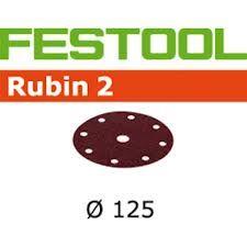 499100 Schuurschijven Rubin 2 STF D125/90 P220 RU/50