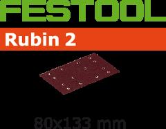 499053 Schuurstroken Rubin 2 STF 80x133/14 P220 RU/50