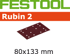 499050 Schuurstroken Rubin 2 STF 80x133/14 P120 RU/50