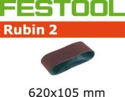499149 Schuurband Korrel 40 Rubin 2 BS105/620x105-P40 RU/10