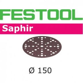575197 Schuurschijven Saphir STF-D150/48 P80 SA/25