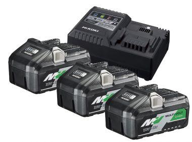UC18YSL3WB3 BoosterPack -3 x BSL36B18 Multivolt Accu 36V 4.0Ah/ 18V 8,0Ah Li-Ion + UC18YSL3 Snellader