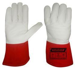 Lashandschoen MIG Pro-Touch paar maat 10 L Gevoerd