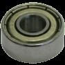 491410 Aanloopkogellager D28-15,88 (2x)