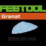 497139 Schuurbladen Granat STF DELTA/7 P150 GR/100