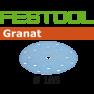 497185 Schuurschijven Korrel 80 Granat 50 stuks STF D185/16 P80 GR/50