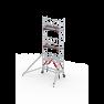 RS TOWER 51 Plus-S 7,2m werkhoog Hout 2.45 Safe-Quick Gevelvrij