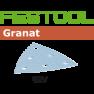 497396 Granat Schuurbladen STF V93/6 P180 GR/100