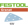 497398 Granat Schuurbladen STF V93/6 P240 GR/100