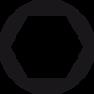 Schroevendraaier SoftFinish zeskantdopsleutel met ronde schacht 01021 5,5 mm x 125 mm
